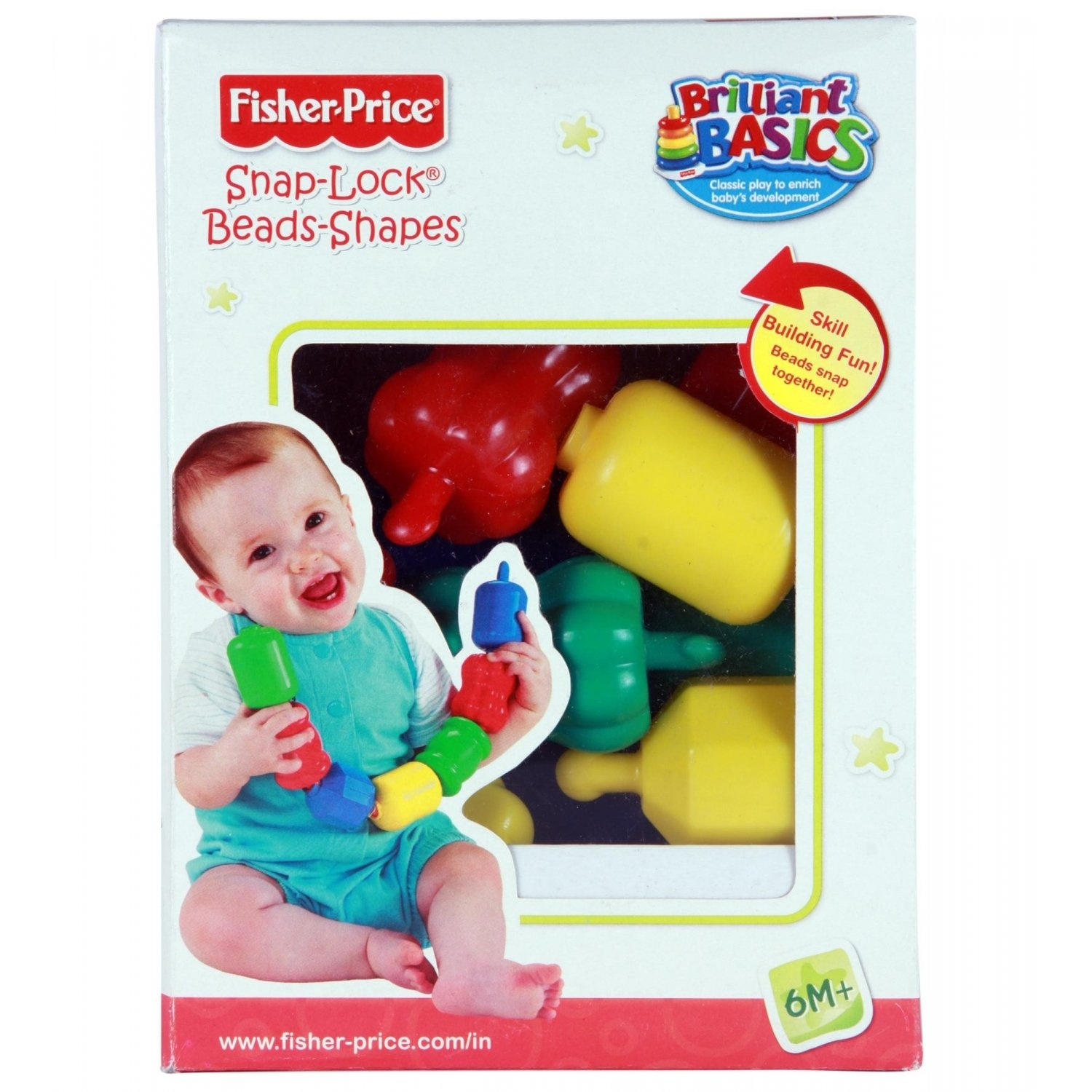 Amazon Fisher Price Snap Lock Beads Toys & Games