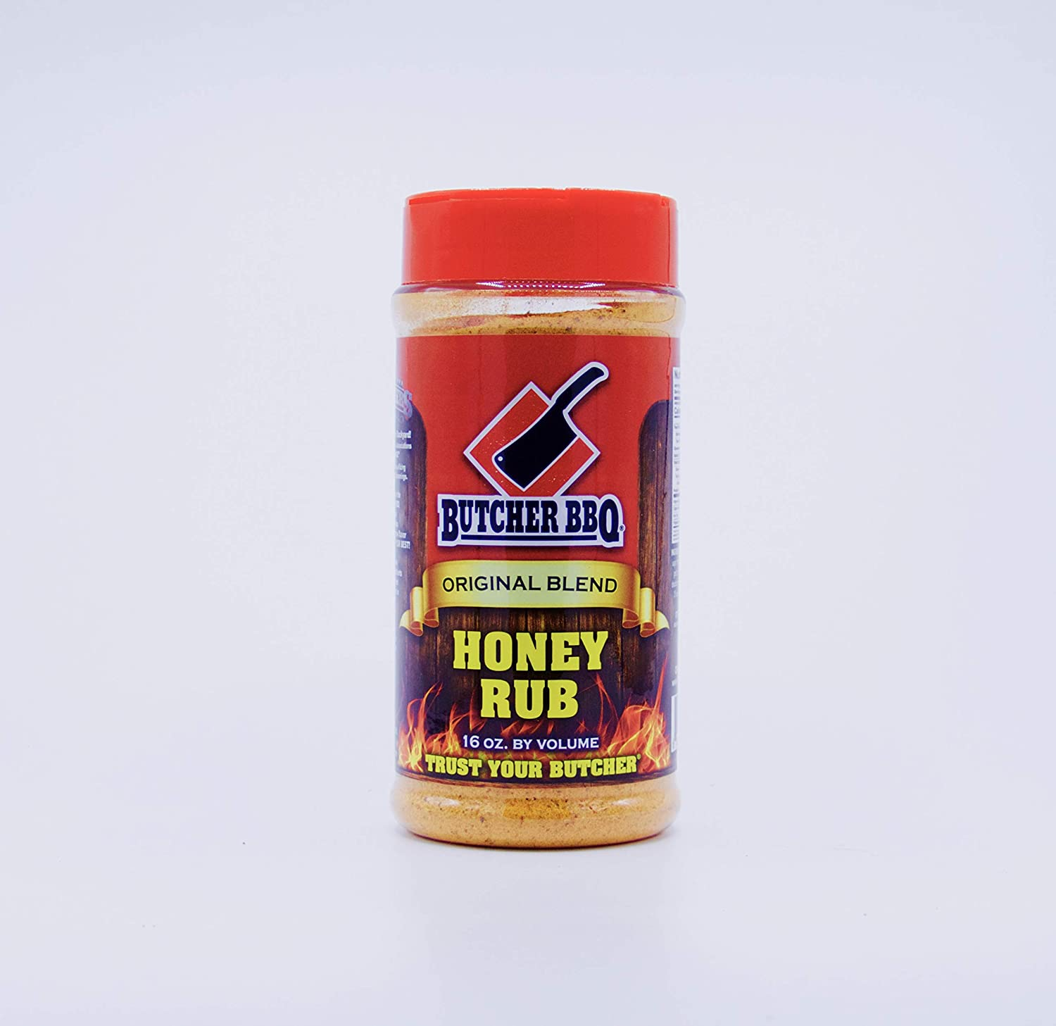 Butcher BBQ Honey Rub   Savory Spice Blends & Rubs for All Kind of Meat 16oz