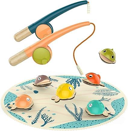 Amazon.com: Juego de pesca para niños de 2 años, regalo para ...