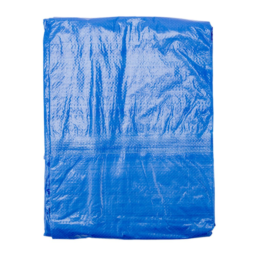 B-Air GTRP912 Grizzly Tarps 9 x 12 Feet Blue Multi Purpose Waterproof Poly Tarp Cover 5 Mil Thick 8 x 8 Weave by B-Air (Image #3)