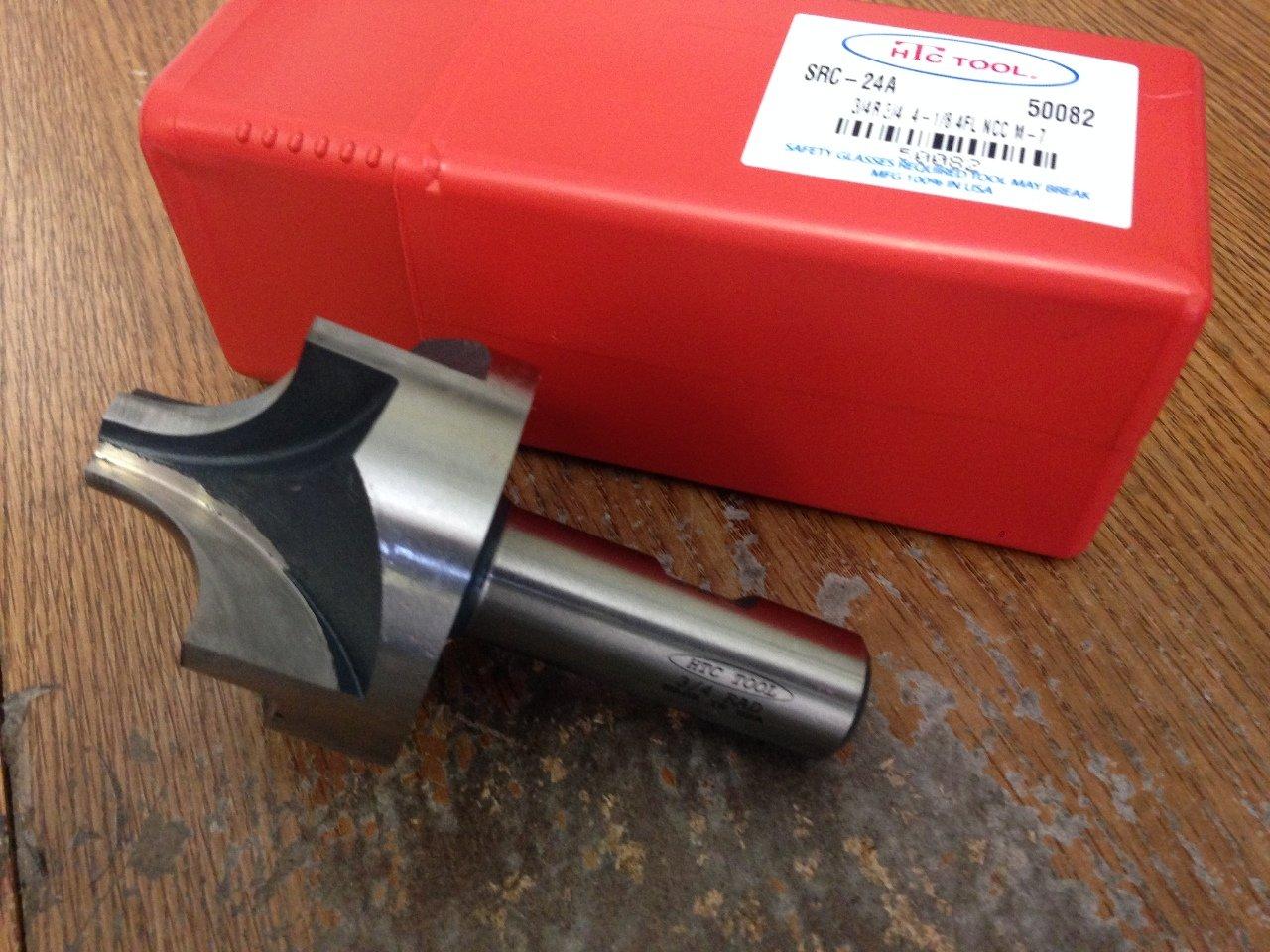 .750 3//4 Radius HIGH Speed Steel Corner Rounding END Mill 3//4 Shank U