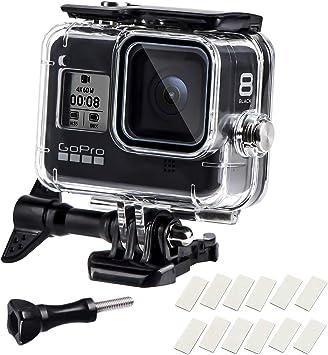 60m Underwater Waterproof Case Protective Shell for Gopro Hero 8 Black