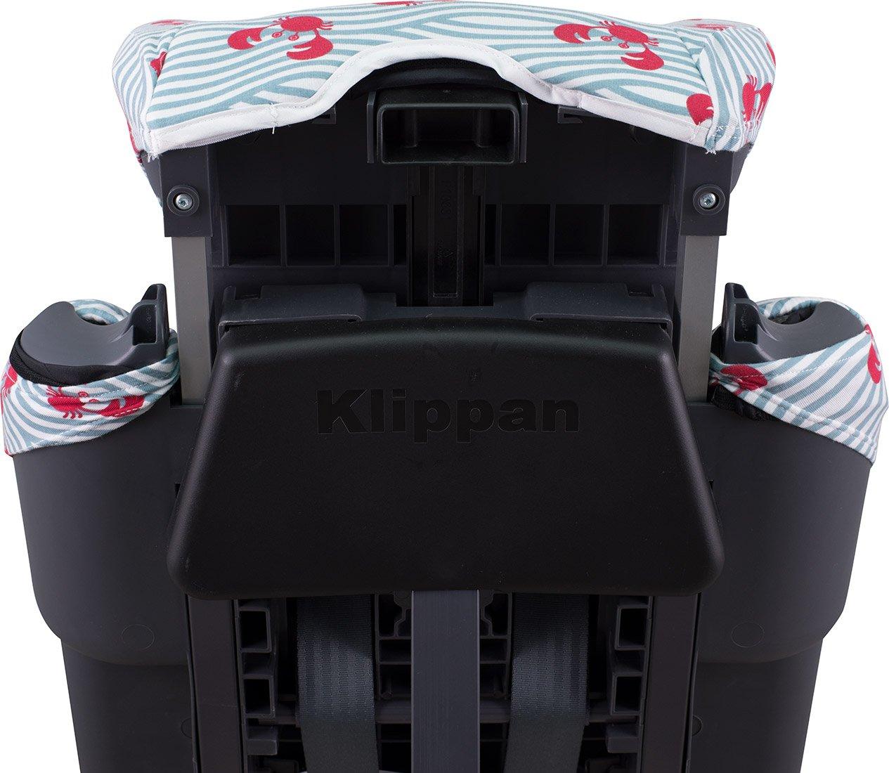 JANABEBE Funda acolchada para Klippan Century y Triofix Comfort BLACK RAYO