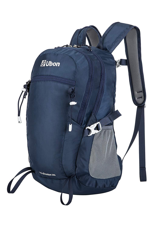 Ubon Lightweight Small Hiking Backpack 20L Travel Daypack