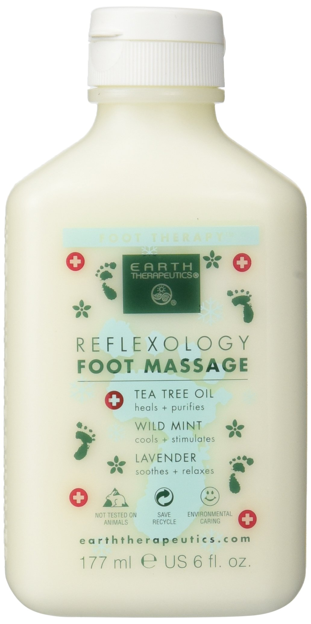 Earth Therapeutics Reflexology Foot Massage Lotion by Earth Therapeutics