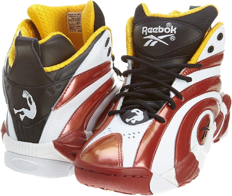 Reebok Shaqnosis Og Basketballschuh Black Red White Yellow