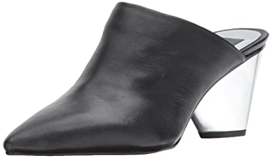b3fcfd4f20 Dolce Vita Women's ADONIS Mule, Black Leather, 7.5 Medium US
