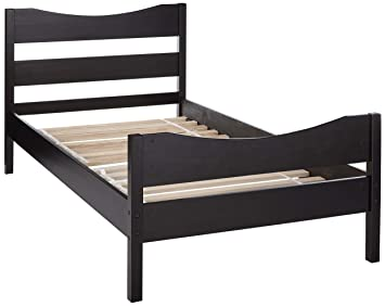 Amazon Com Merax Wf034134paa Wood Platform Bed Frame With Headboard