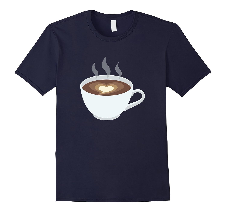 All I Need Is Coffee Lover Cup Emoji Emoticon Fun Tee Tshirt-CD