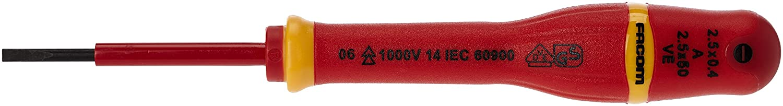 Destornillador de precision boca plana 1.0x50 mm ALYCO 119501