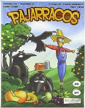 Zacatrus!- Pajarracos Juego de Mesa, (ZAC027): Amazon.es: Juguetes y juegos