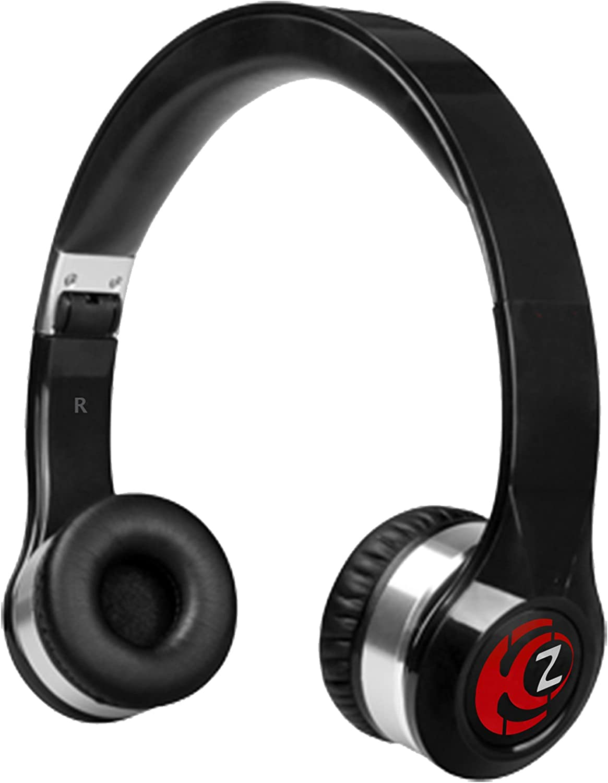 Krankz Wireless Bluetooth On-Ear Headphones (Black)