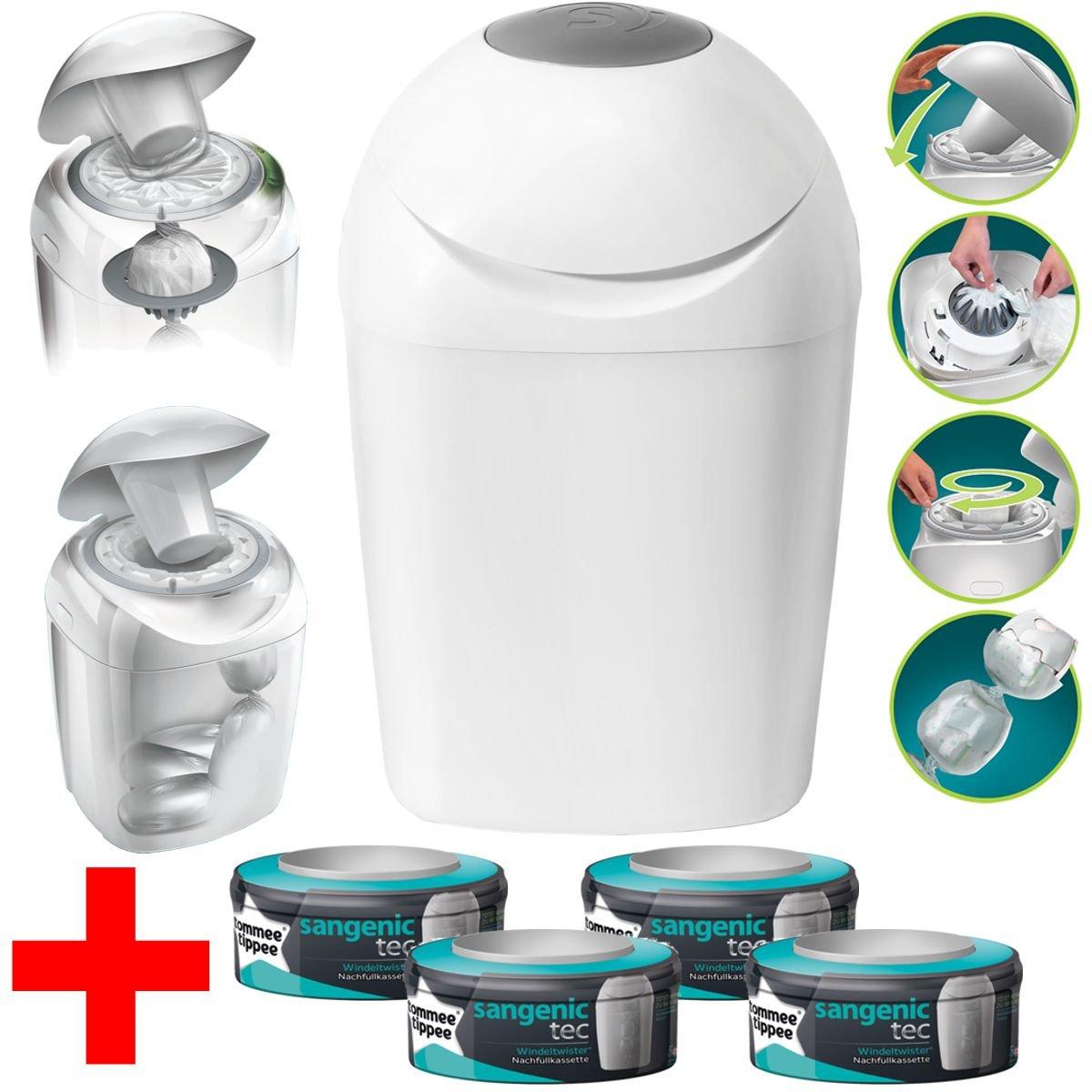 Modèles Sagenic Tec MK4Hygiène Plus de confort + 4cassettes de recharge (Limited Edition) product image