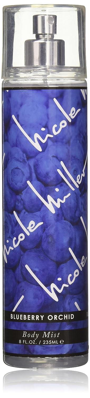 Nicole Miller Body Mist, Blueberry Orchid, 8 Fluid Ounce