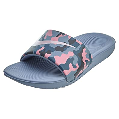 b09e57e54 NIKE Kids  Kawa Slide (GS PS) Print Athletic Sandal (1 M