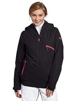 DC mujeres chaqueta de snowboard riji, mujer, negro, L: Amazon.es: Deportes y aire libre