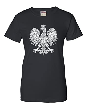 c5344c130 Amazon.com: Womens Polska Eagle Polish Pride Poland T-Shirt: Clothing