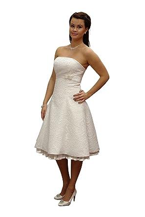 Brautkleid standesamt kleid knielang