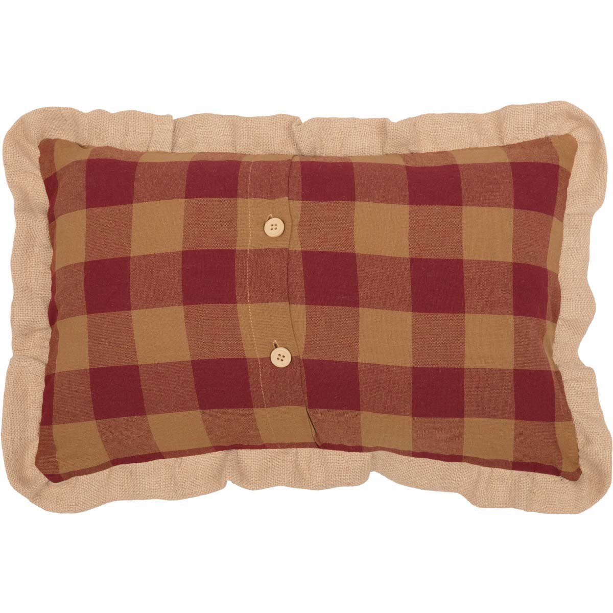 Christmas Blessings Tan 14 x 22 Pillow Brown VHC Brands Holiday Pillows /& Throws