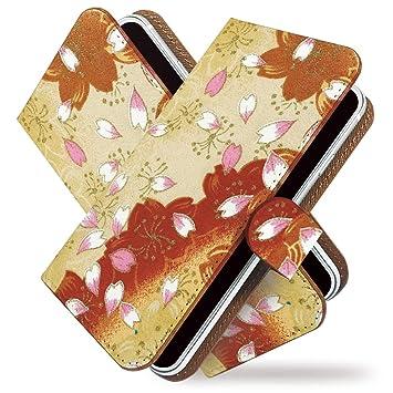 f4b837d4df Amazon   [KEIO ブランド 正規品] iPhone6 ケース 手帳型 和柄 iPhone 6 ...