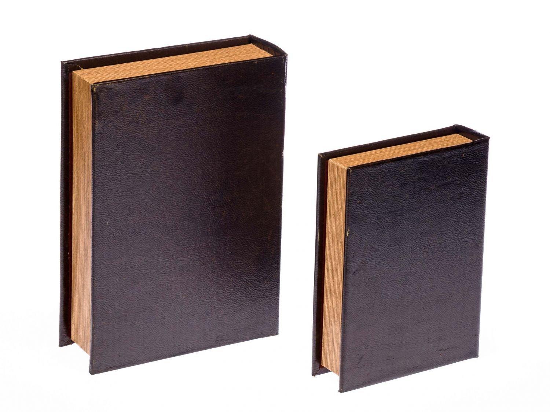 Buchattrappe Etui Box Schmucketui Buch Schiff Segelschiff antik Stil book box L