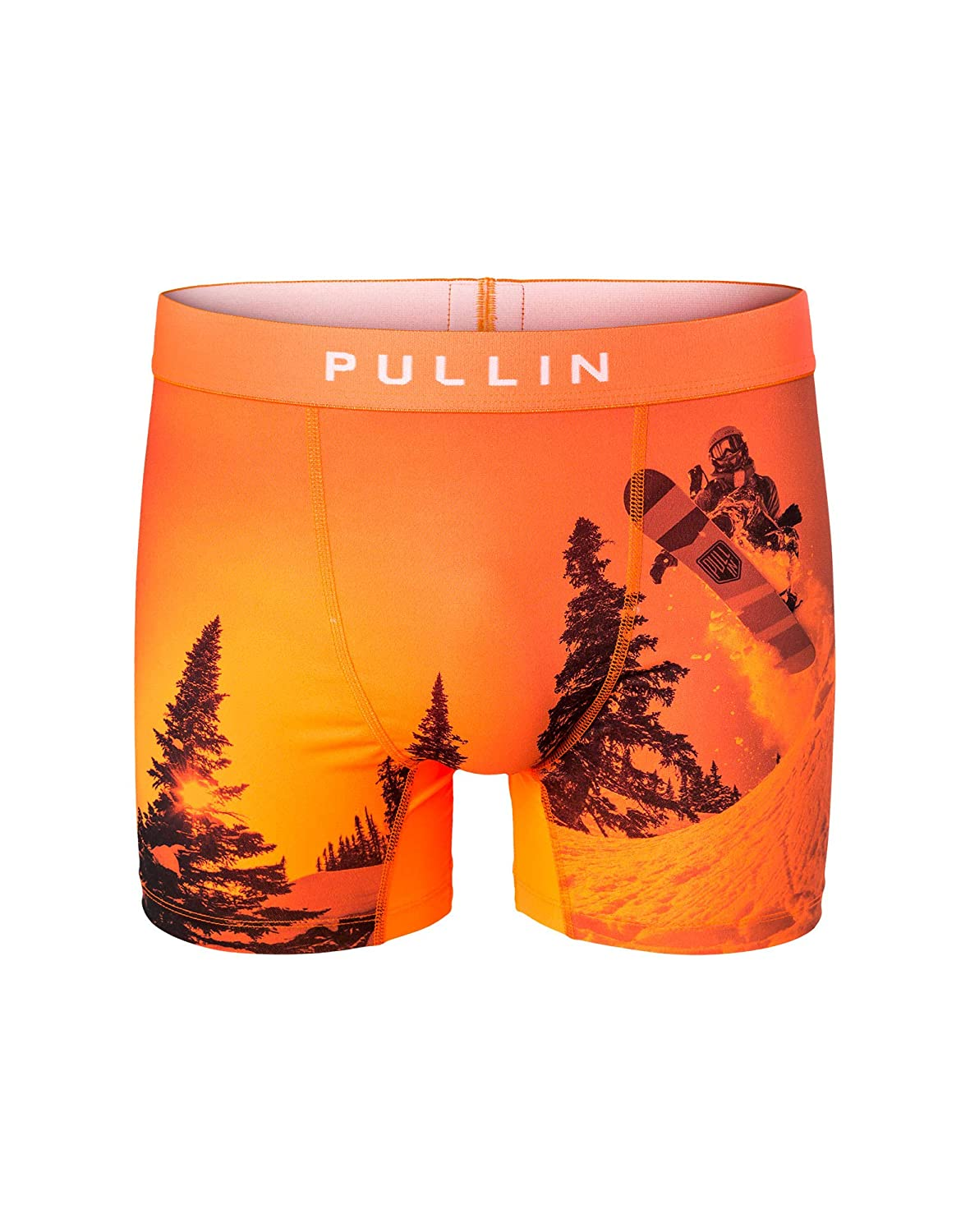 TALLA L. Pull-in Calzoncillos Boxer Fashion 2 Back Country Anaranjado