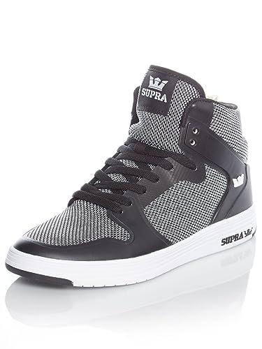 Supra Men's Vaider 2.0 Shoes,Size 6.5,Black/Black-White