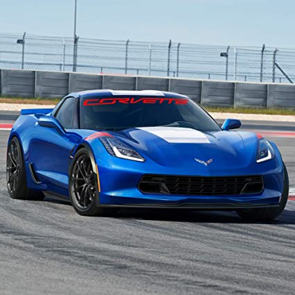 2014-2018 C7 Corvette Stingray Z51 Front Fenders Vent Decals Package by Southern Car Parts