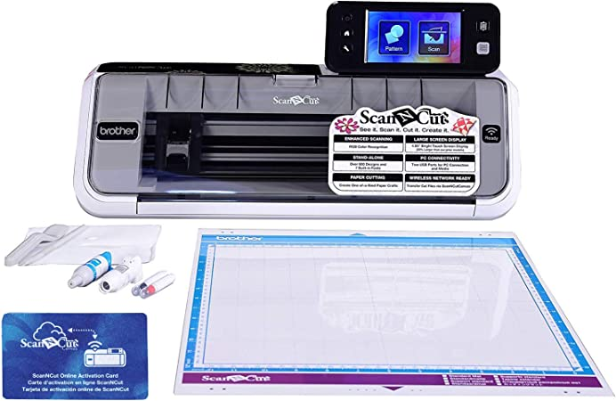 Brother CM350E ScanNCut2 with ScanNCut Online Activation Card