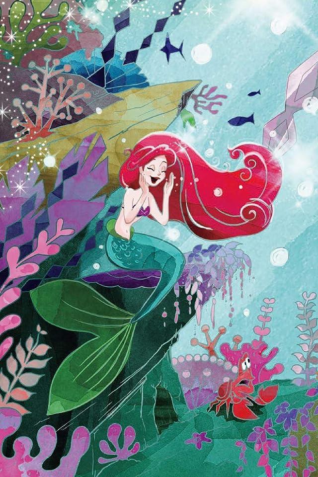 ディズニー 『リトル・マーメイド』アリエル iPhone(640×960)壁紙画像