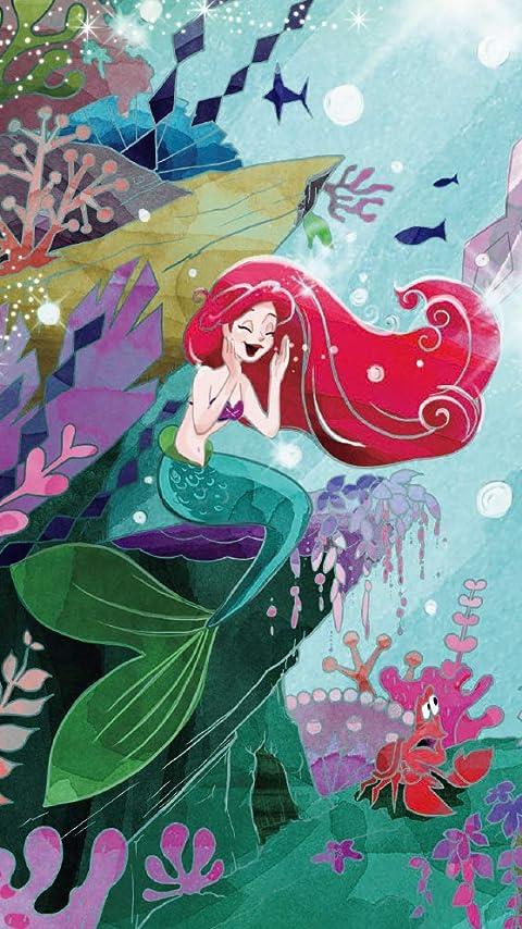 ディズニー 『リトル・マーメイド』アリエル XFVGA(480×854)壁紙画像