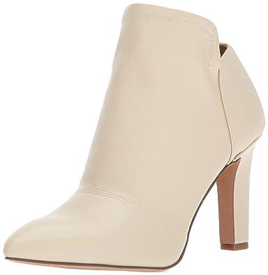 Franco Sarto Women's Kairi Ankle Boot, Winter White, 10 Medium US