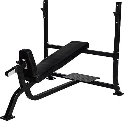 Gorilla Sports Incline Weight Bench Press Bench With Storage Black Amazon De Sport Freizeit
