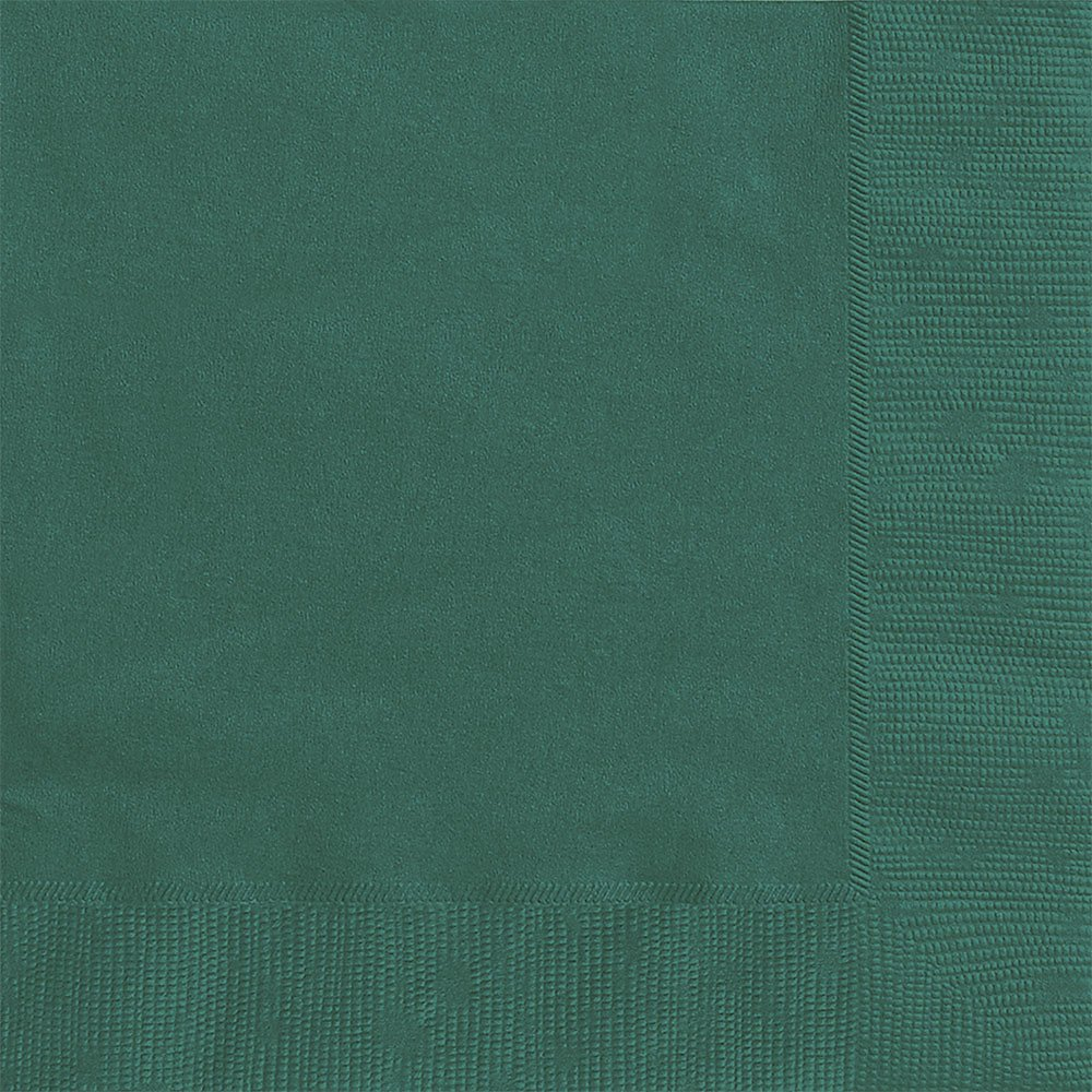 Unique Industries 011179032426 Green Luncheon Napkins 20 Pack