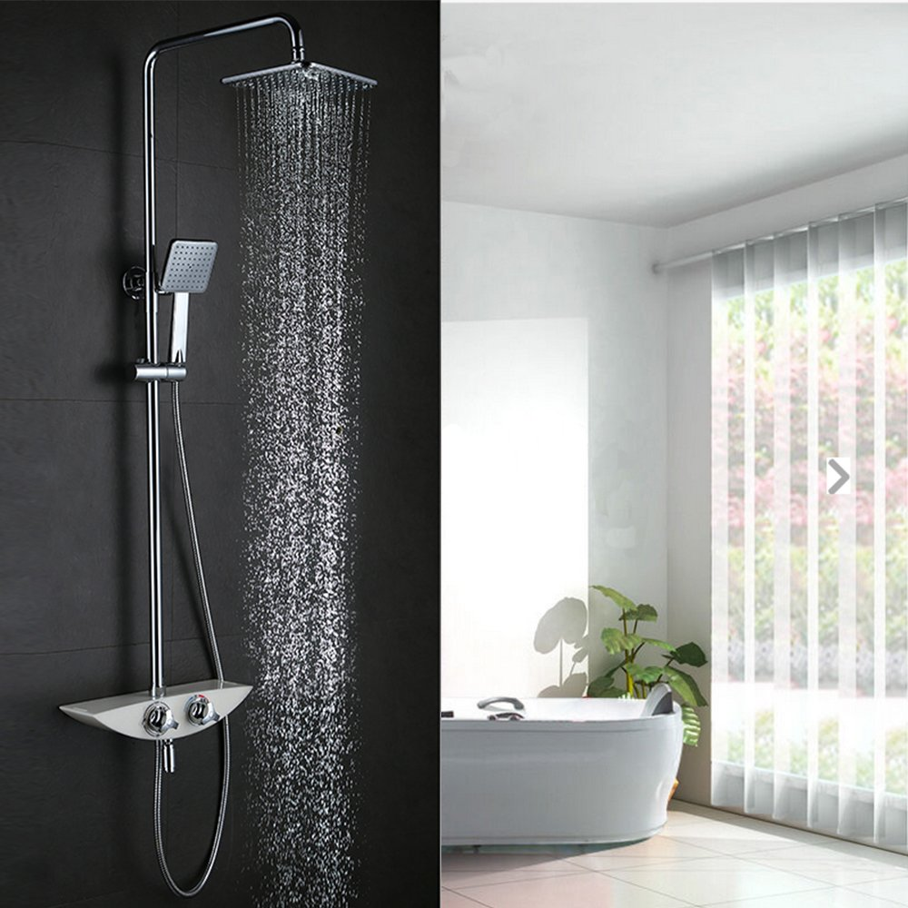 Awesome Moderne Duscharmatur Regendusche Webert Gallery - Rellik ...
