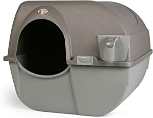 Omega Paw Large Roll 'n Clean Self Cleaning Litter Box for Cats