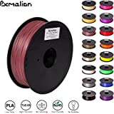 Pxmalion PLA 3D Filament, Rosy Brown, 1.75mm, Accuracy +/- 0.03mm, Net Weight 1KG(2.2LB), Compatible with most 3D Printer & 3D Printing Pen