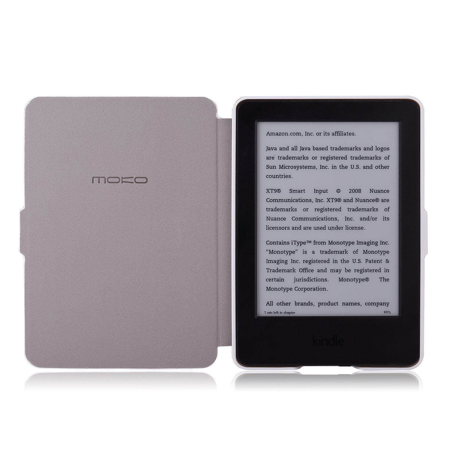 MoKo Case for Amazon Kindle 7th Gen - Ultra Lightweight Shell Case Stand Cover Case for Amazon Kindle 2014 ( 7th Generation ), Map A by MoKo (Image #4)