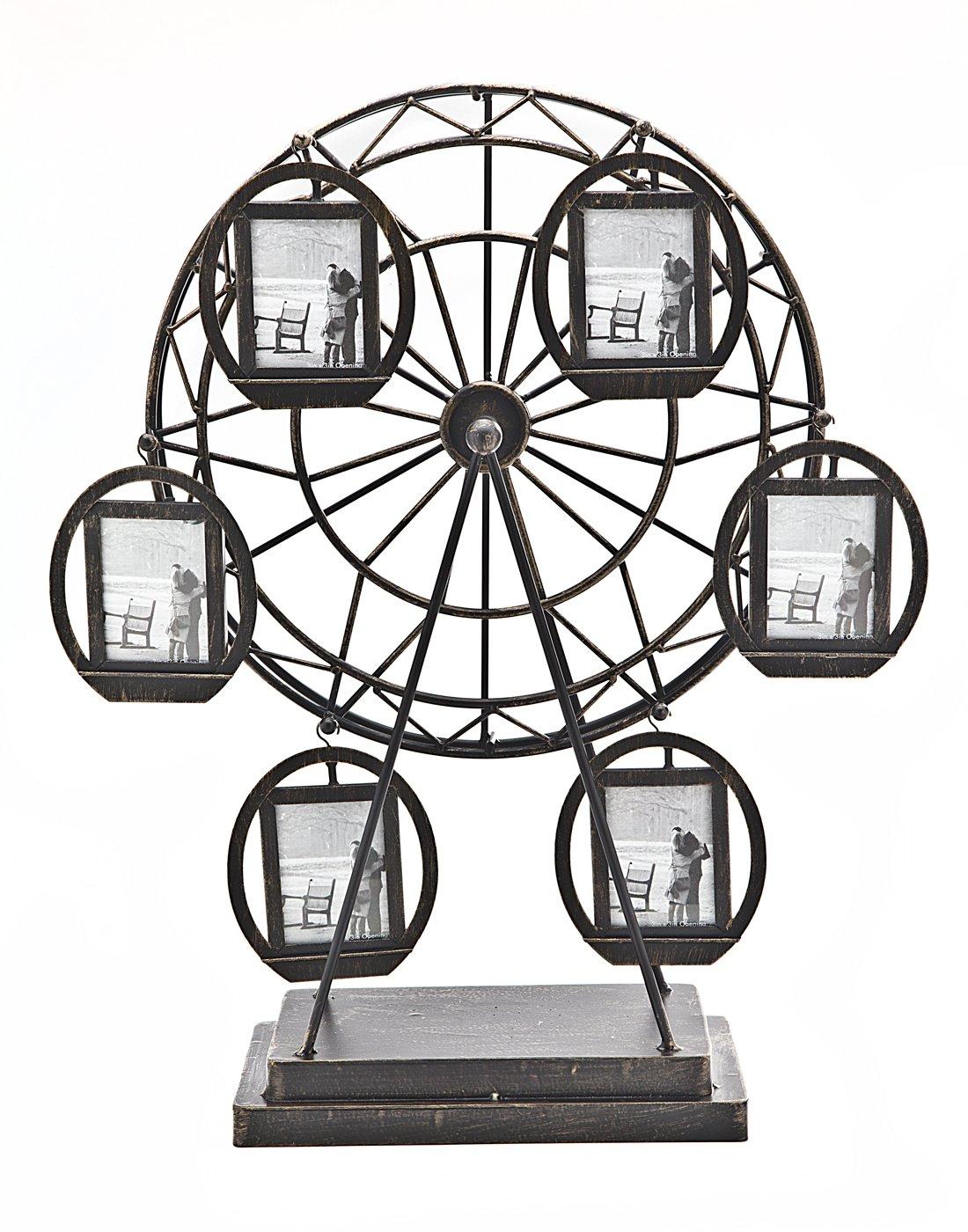 Amazon.com - Philip Whitney Rotating Ferris Wheel Six 2x3 Picture ...