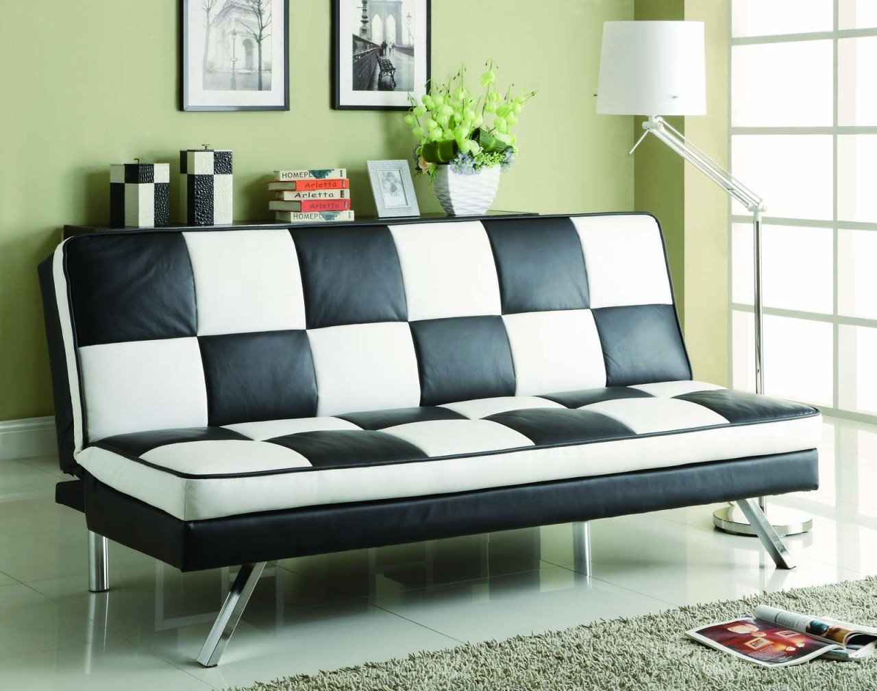 Coaster Sofa Bed-Black