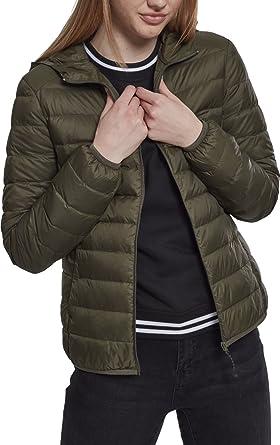 Ladies Basic Hooded Down Jacket Girl-Jacke schwarz Urban Classics