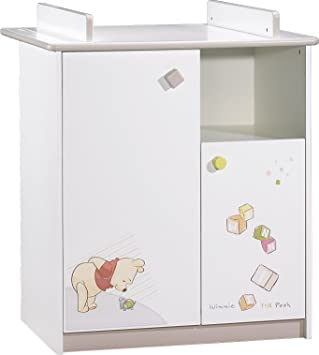 Sauthon On Line Winnie Discovery Commode 2 Portes 1 Niche Avec