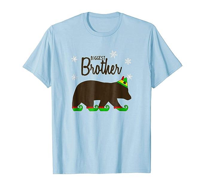 amazoncom biggest brother bear shirt matching family christmas pajamas clothing