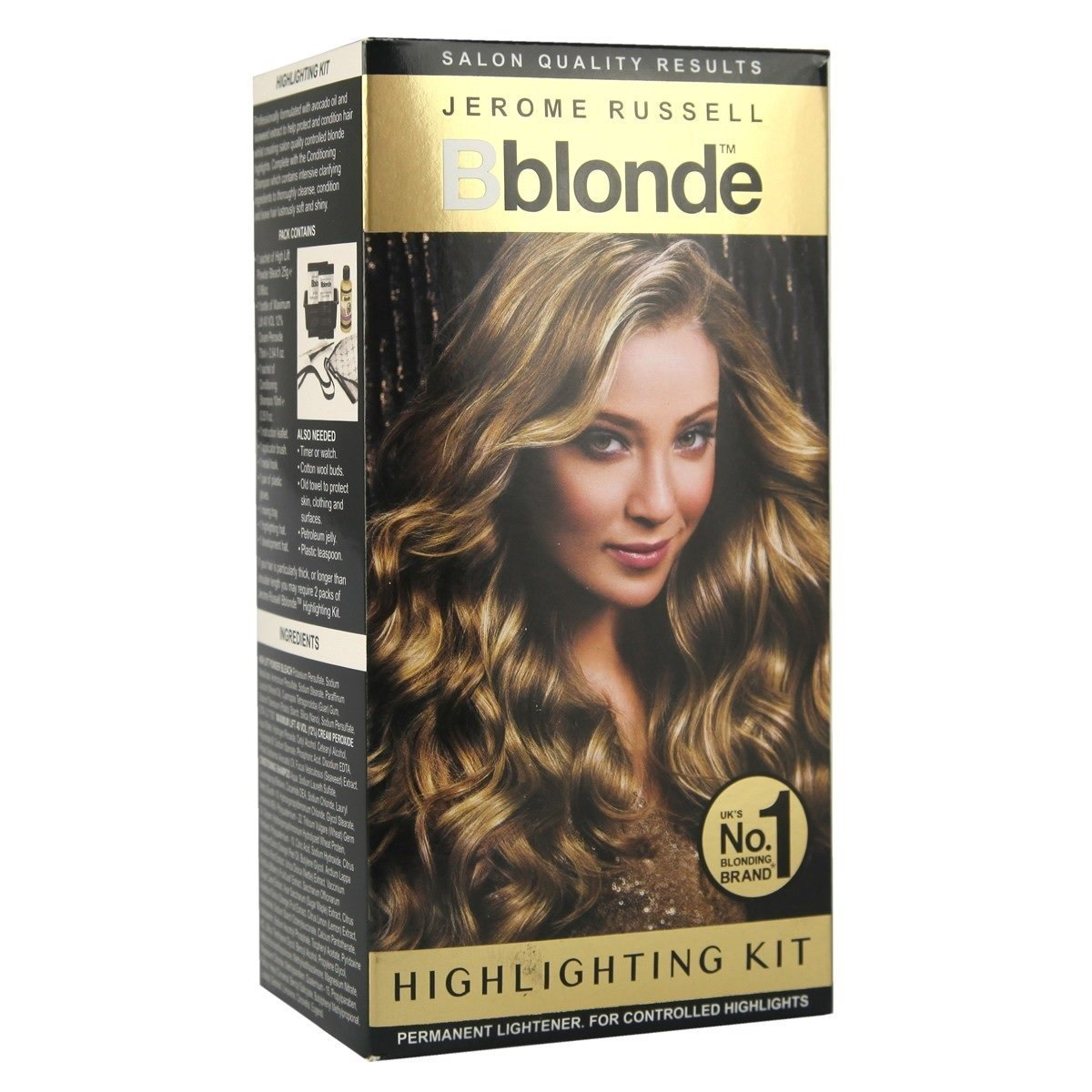 Jerome Russell Bblonde Highlighting Kit No1 Amazon Beauty