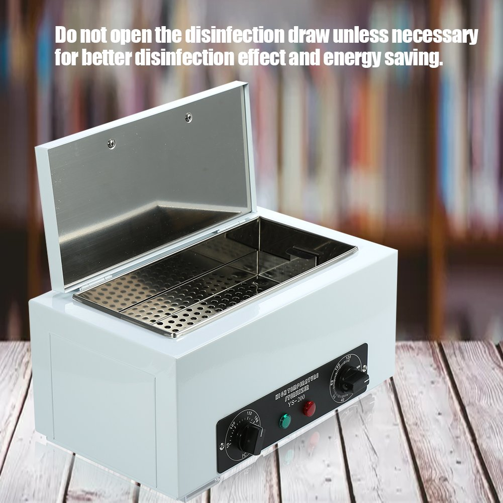 Hei/ßluftsterilisator EU Ultraviolettstrahlung Sterilisator Desinfektion Nagelstudio Besitze ein Zertifikat hohe Temperatur Desinfektion schrank