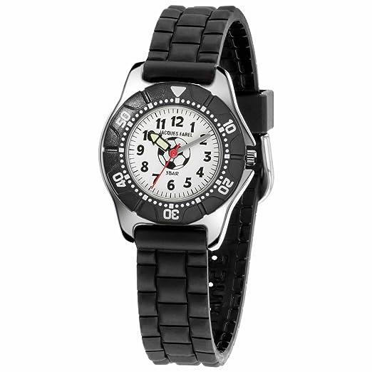 Jacques Farel Reloj de niño Adolescentes Fútbol KWD 7117: Amazon.es: Relojes