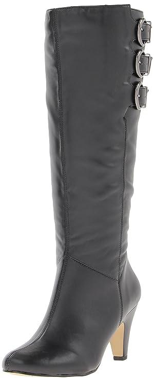 Bella Vita Women's Transit II Plus Knee-High Shafted Boot,Black,11 W US