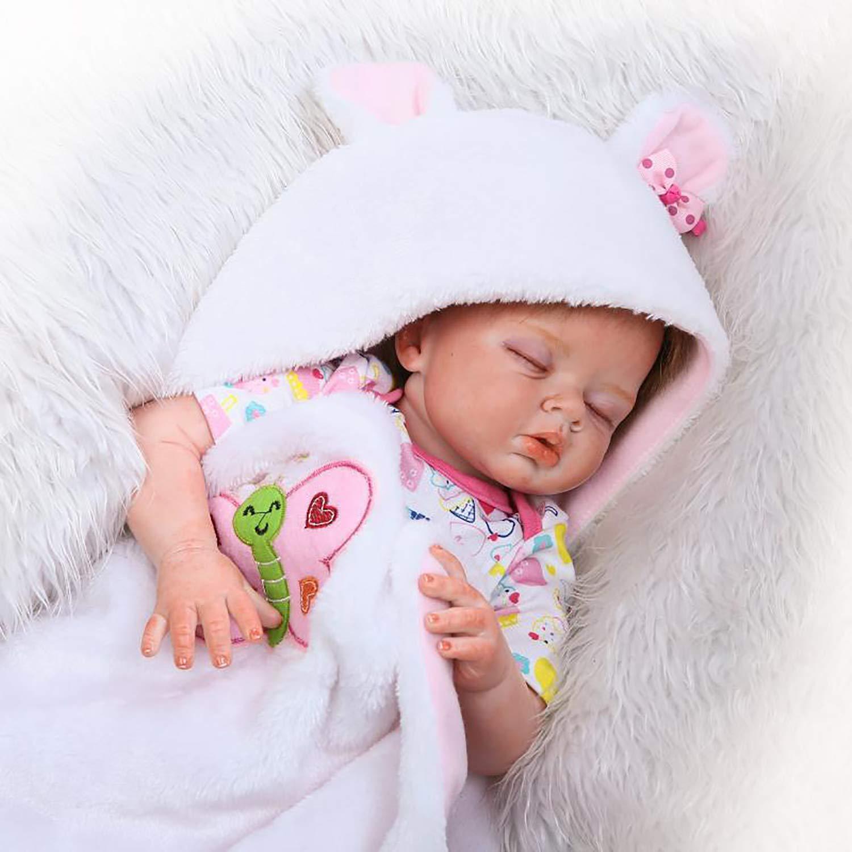para mayoristas LBHE Reborn Baby Doll Realista Adorable Baby Soft Body Body Body Girl Doll, 22 Pulgadas 55 cm ponderada Baby Doll, Juguete de Peluche, compañero de Juguetes para niños  Entrega gratuita y rápida disponible.