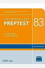 The official LSAT PrepTest 83 (Official LSAT PrepTests) Kindle Edition
