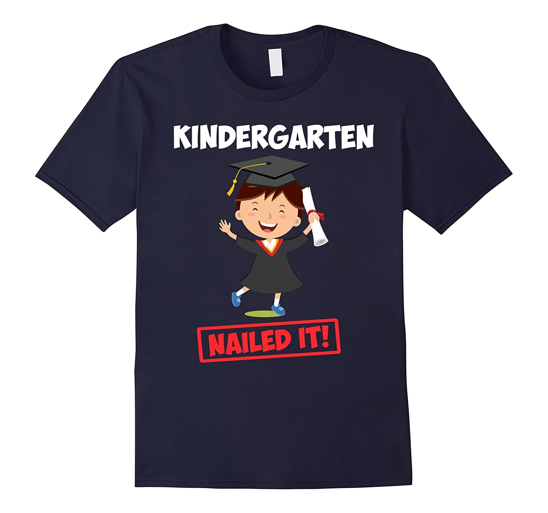 Kindergarten-GraduationGraduate-T-shirtNailed-CD